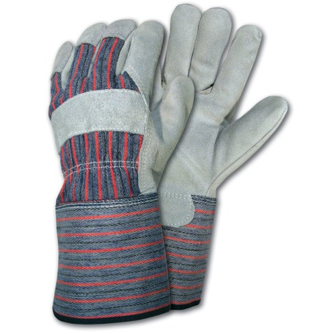 An inexpensive pair of leather work gloves can prevent a potentially dangerous dog bite.