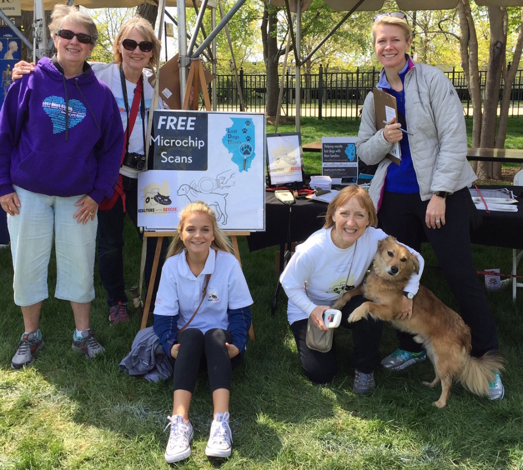 RTTR and LDI Volunteers Bark in the Park